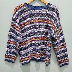 Eddie Bauer Aztec  sweater size S
